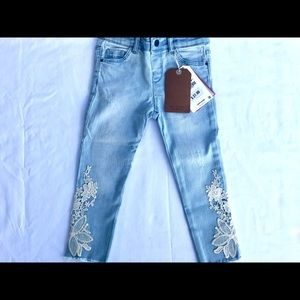 NEW WITH TAGS! Zara appliqué jeans